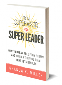 from supervisor to super leader book